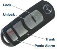 Mazda Key Fob The Most Basic Keyless Entry ...
